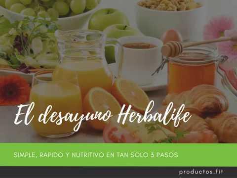 Ritmo de perdida de peso herbalife