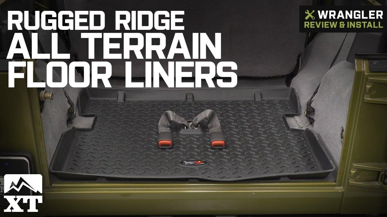 Jeep Wrangler Rugged Ridge All Terrain Floor Liners 1997 2006 Tj