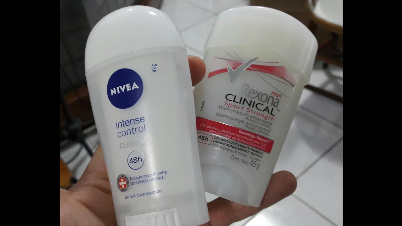 937916f92 Rexona Clinical X Nivea Clinical - YouTube