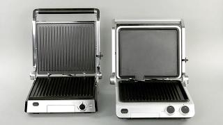Недорогие электрические контактные грили Kitfort: KT-1601 и KT-1603