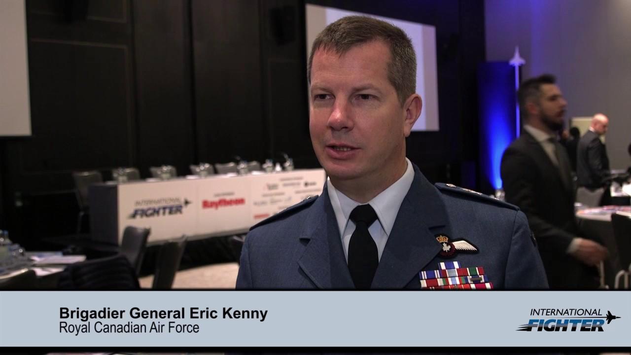 International Fighter: Brigadier General Eric Kenny, Royal Canadian Air  Force
