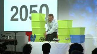 Hans Rosling: Global population growth, box by box(http://www.ted.com The world's population will grow to 9 billion over the next 50 years -- and only by raising the living standards of the poorest can we check ..., 2010-07-09T18:11:33.000Z)