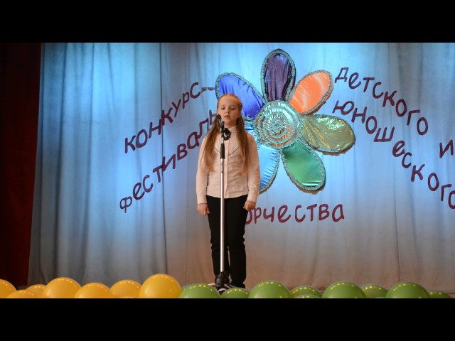 Изображение предпросмотра прочтения – АнастасияКречуняк читает произведение «Славная осень» Н.А.Некрасова