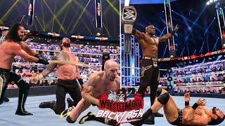 WWE WrestleMania BackLash 16th May 2021 Highlights, Seth Rollins Attacks Roman reigns & Cesaro