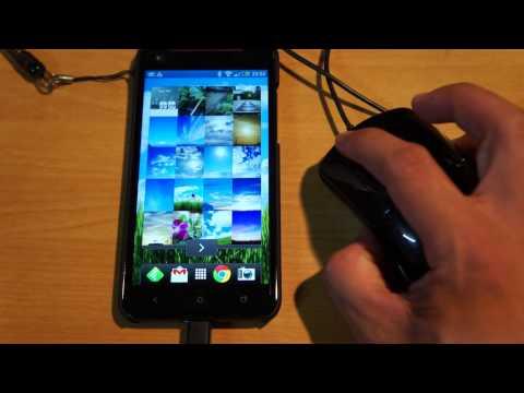 Android : マウス操作(有線USB接続)