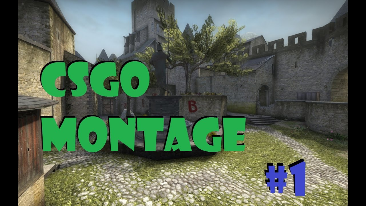 CS:GO FRAGS MONTAGE #1
