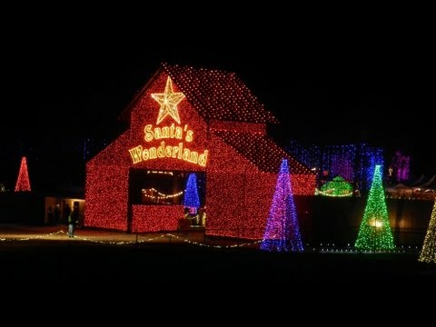 Santa's Wonderland- A Texas Christmas Experience~ College  Station, Texas December 24, 2012