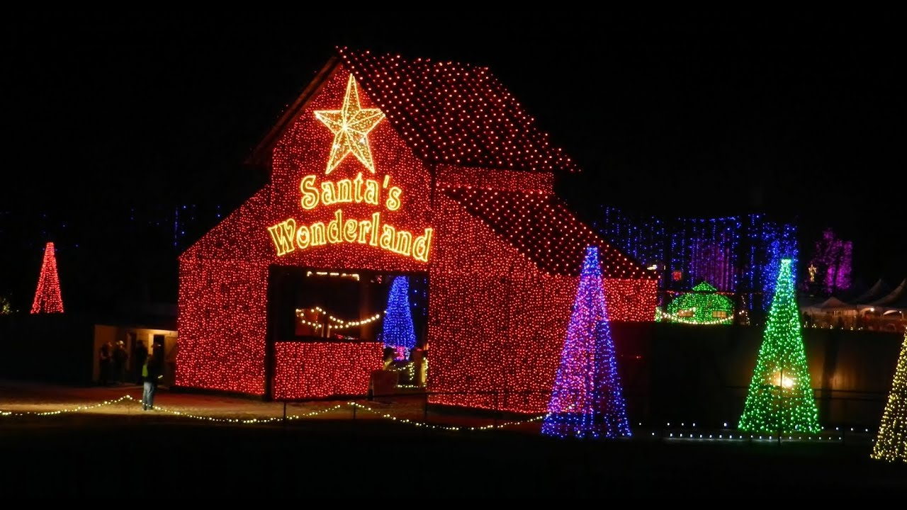 Santa's Wonderland- A Texas Christmas Experience~ College Station ...