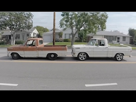 F100 Crown Vic full frame swap comparison