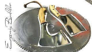 Топор из пильного диска | DIY
