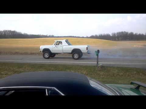 Bobs truck burnout