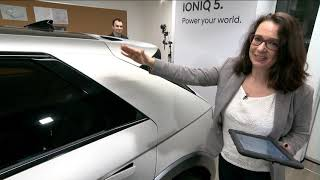 IONIQ 5 Virtual Showroom - Project 45 Event Recording - Pre-Production 360 Walkaround