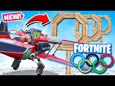 *NEW* FLYING PLANE OLYMPICS Game Modes in Fortnite Battle Royale thumbnail