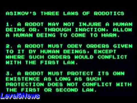 The 3 Laws Of Ai Robotics Won T Protect Humanity Youtube