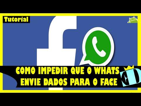 Como impedir que o Whatsapp envie dados para o Facebook