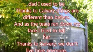 Thanks to Calvary