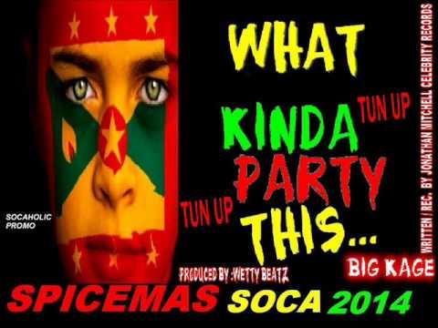 [NEW SPICEMAS 2014] BIG Kage - What Kinda Party This - Grenada Soca 2014