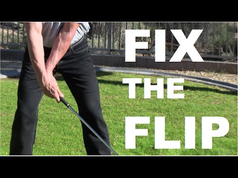 How To Stop Flipping Your Wrists At Impact