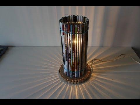Make Lampshade With Newspaper | Useful Handicraft