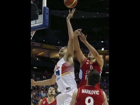 FIBA EuroBasket 2015 Spain vs Serbia 720p HD