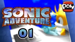 Sonic Adventure: ALL SYSTEMS, FULL POWER! - Part 1 - POWplays Replay