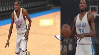 NBA 2K15 Graphics Comparison Nba 2k14 Screenshots Kevin Durant Nba 2k15 Gamplay Screen Shot