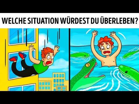15 Rätsel, bei denen du dich aus gefährlichen Situationen befreien musst