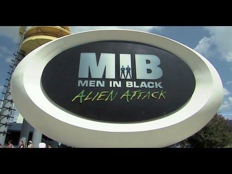 Men In Black Alien Attack attraction ride at Universal Studios Florida