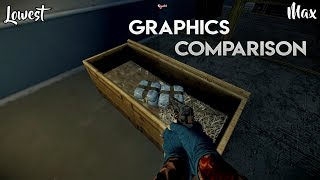 Payday 2 - Max Vs Low PC Graphics Comparison