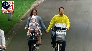 Cycling in Vondelpark Amsterdam