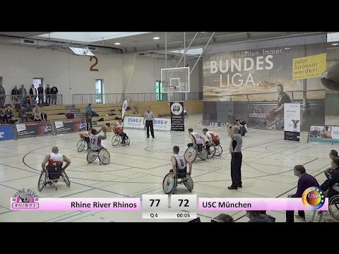 RBBL: Rhine River Rhinos vs. USC München