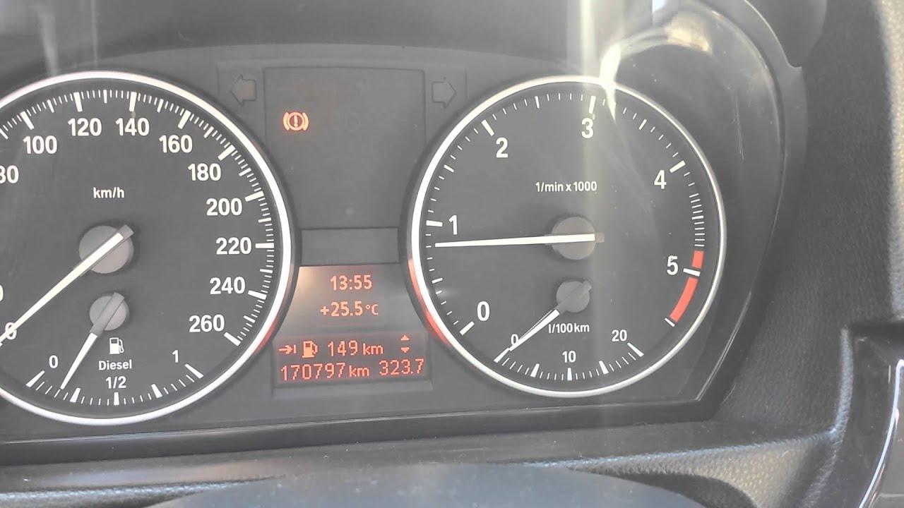 BMW 320d E92 rpm problem
