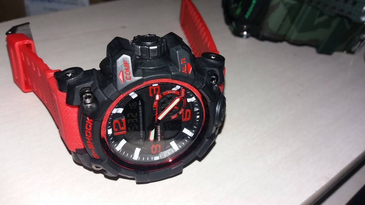 781d99332bc UNBOXING  G Shock   Réplica Perfeita!! - YouTube