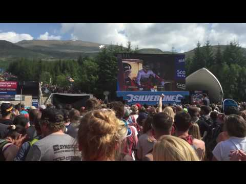 Mountain Bike World Cup 2016: Fort William- Gee Atherton