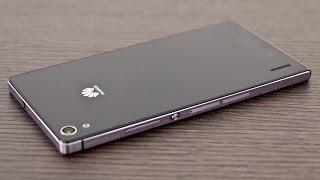 فتح الصندوق ونظرة على هاتف Ascend P7 من Huawei