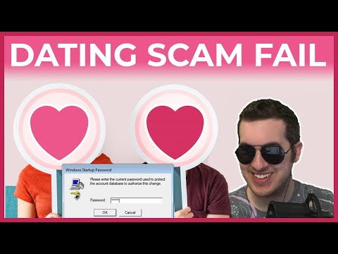 Dating Support Scammer Completely Fails