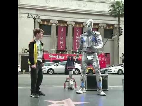Robot dance talent