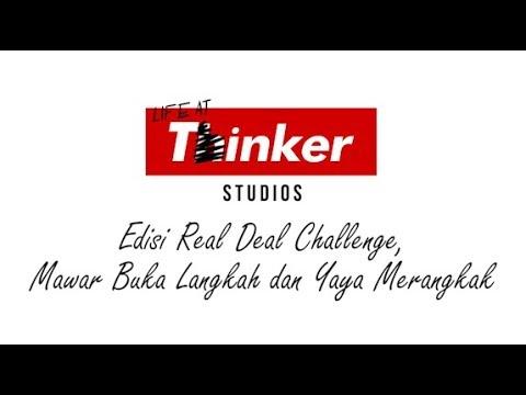 Life At Thinker: Edisi Real Deal Challenge, Mawar Buka Langkah dan Yaya Merangkak