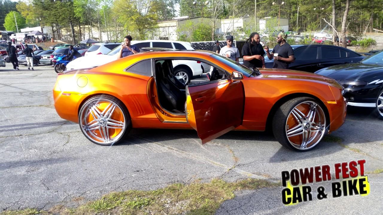 POWERFEST Car Bike Show Atlanta GaEROSS FILMS YouTube - Car show atlanta ga