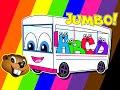 Thumbnail for The Wheels On The Bus | Jumbo Version | Popular Kindergarten Rhyme | Little Baby Song | Kids Video