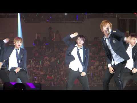 [FANCAM] 140810 BTS We Are Bulletproof Pt 2 @ KCON 2014