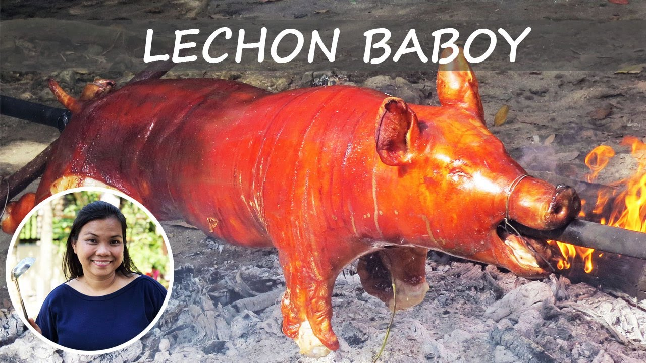 Download Best Tasting Lechon Baboy Recipe from Butchering to Roasting Whole Pig Complete Process