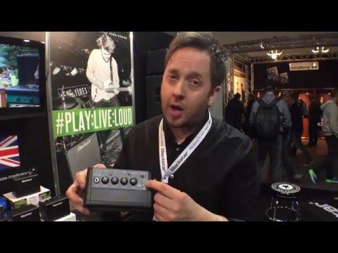 MusikMesse 2016: Blackstar Fly 3 Mini Bass Amplifier