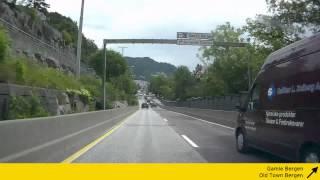 E39 Norway: through Bergen