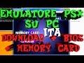Emulatore Ps1 Su Pc Tutorial - Download  Bios  Memory Card