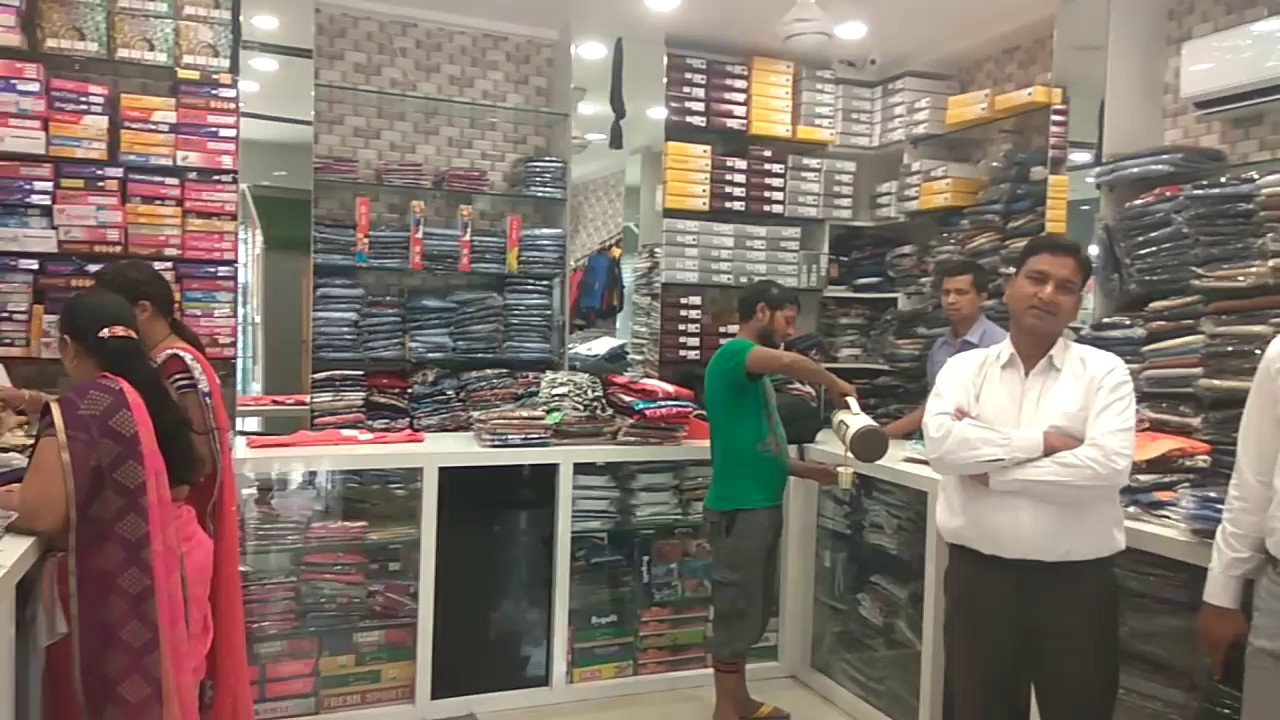 Paras Fusion Garments Showroom Complete Interior