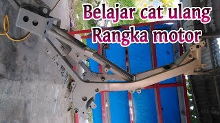 Download Video BELAJAR CAT RANGKA MOTOR MP3 3GP MP4