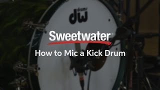 How to Mic a Kick Drum, by Sweetwater