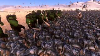 100 Hulk vs 5000 Vampire Mutant - Ultimate Epic Battle Simulator