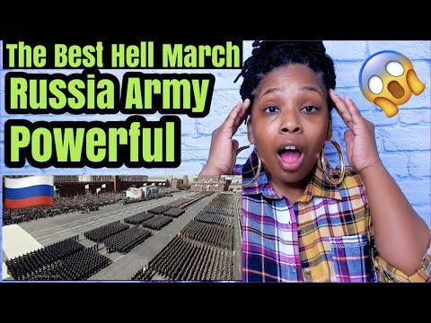 Russian Army | The Best Hell March | Russia Military 2020 | REACTION!!!
